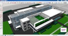Sketchup Library M1 3D Model