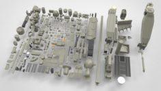 Mechanics collection 3D Model