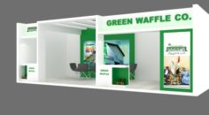 Exhibition stand 19 3D Model