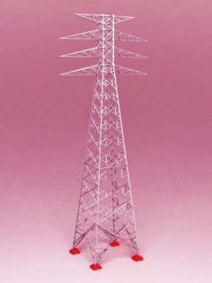 Power Tower Transmission 3D Model