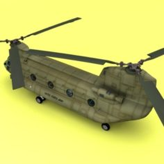 Ch-47 US Army 3D Model