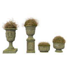 Street Vases 3D Model