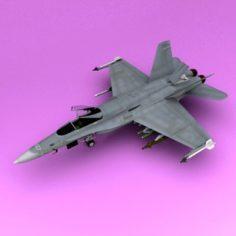 Cf-18 3D Model