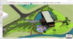 Sketchup Sales Office A1 3D Model