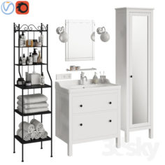 Ikea Hemnes bathroom                                      3D Model