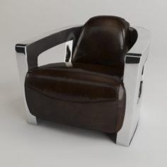 Chair Chrome 3D Model