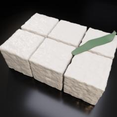 Tofu Pack 3D Model