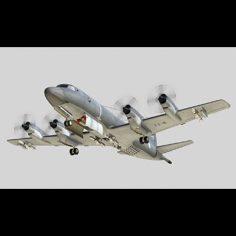 CP-140 Aurora 3D Model