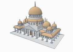 Bulding for print 3D Model
