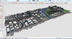 City 3d sketchup – 2 3D Model