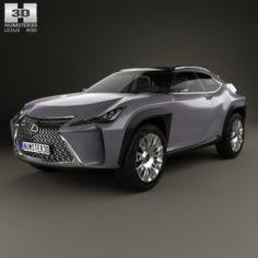 Lexus UX 2016 3D Model