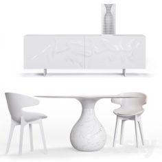 Roche Bobois. Furniture set                                      3D Model