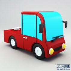 Truck v 2 3D Model