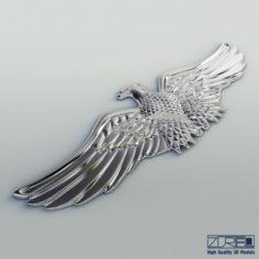 Chrome eagle 3D Model