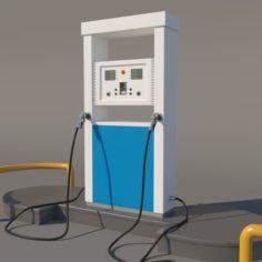 LPG Dispenser 3D Model