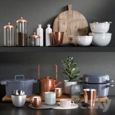 Kitchen Accessories 8                                      3D Model