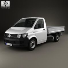 Volkswagen Transporter T6 Single Cab Pickup L2 2016 3D Model