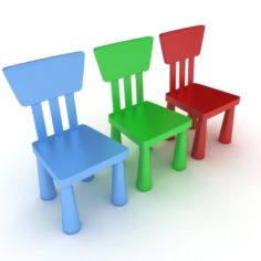 Children chair 3D Model