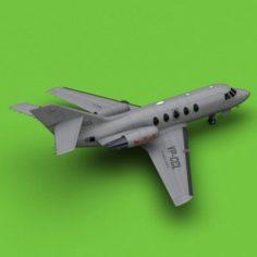 Dassault Falcon 20-200 New Yorker 3D Model
