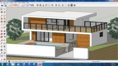 Villa sketchup – 6 3D Model