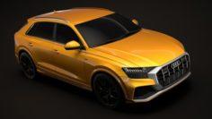 Audi Q8 50 TDI quattro S line Vorsprung Edition 2018 3D Model