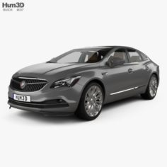 Buick LaCrosse Allure with HQ interior 2017 3D Model