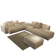 Sofa – Bonaldo Peanut 3D Model