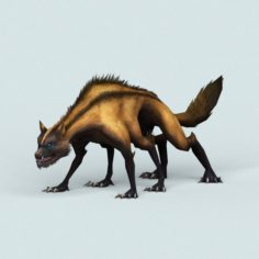 Monster Hyena 3D Model