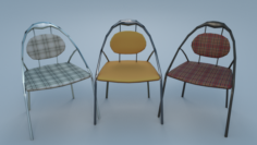 Chair9 for cafe 3D Model