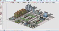 City 3d sketchup – 1 3D Model