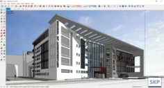 Sketchup school K7 3D Model