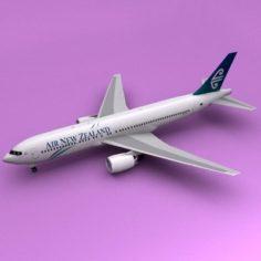 Boeing 767 Air New Zealand 3D Model
