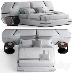 Bed of my design)                                      3D Model
