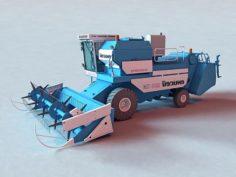 Harvesting 3D Model