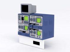 Oscilloscope Equipment 3D Model