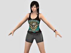 Girl – A29 3D Model
