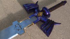 Master Sword from The Legend of Zelda 3D Model