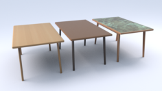 Table2forcafe 3D Model