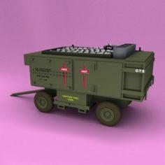 A-M32A-60A Generator Set 3D Model