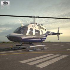 Bell 206 3D Model