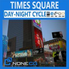 New York City Times Square 3D Model
