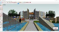 Sketchup Museum 127 3D Model