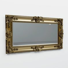 Mirror in classic frame 3D Model