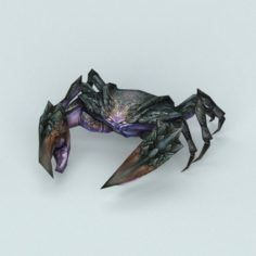 Fantasy Monster Crab 3D Model