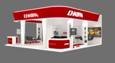 EXHIBITION STAND 23 3D Model