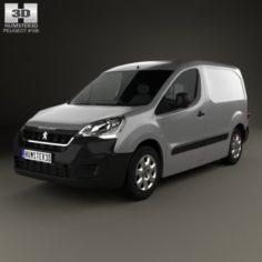 Peugeot Partner Van 2015 3D Model