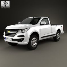 Chevrolet Colorado S-10 Regular Cab 2016 3D Model