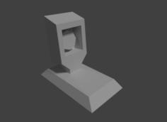Lowpoly Cam Free 3D Model