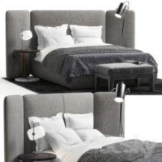 Meridiani Tuyo bedroom set                                      3D Model