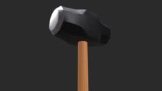 Sledgehammer 3D Game Asset 3D Model